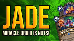 Miracle Jade Druid is the Nuts! | Ashes of Outland | Wild Hearthstone