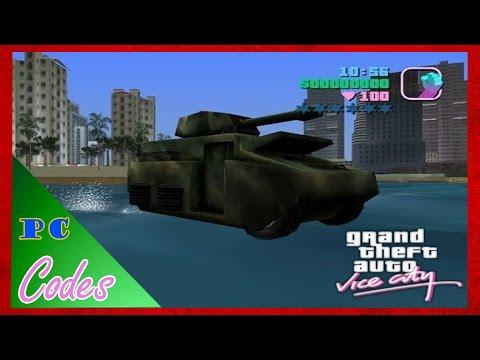 Codes GTA Vice City PC