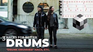 "3 Hacks for Better Drum Beats (feat. ""Mile Zero"")"