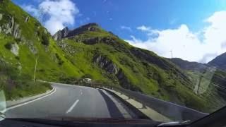 Swiss Alps Nufenen Pass (Passo della Novena)