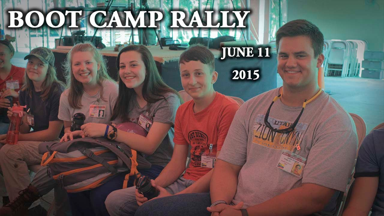 Teen Missions 1st Boot Camp Rally June 11th - YouTube