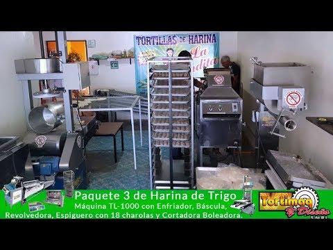 Proceso Automatizado Para Tortilla De Harina De Trigo Negocio Rentable