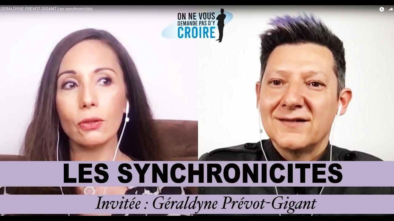 GERALDYNE PREVOT GIGANT Les synchronicités