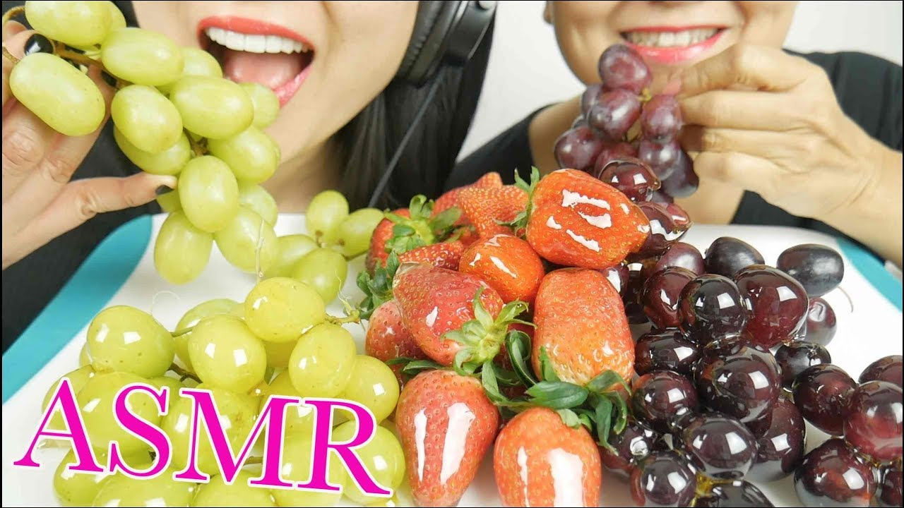 Asmr Candied Tanghulu Strawberries Grapes Crackling Eating No Talking Nana Eats Sas Asmr Youtube Asmr candied fruit *tanghulu* mukbang 먹방 check out my instagram: youtube