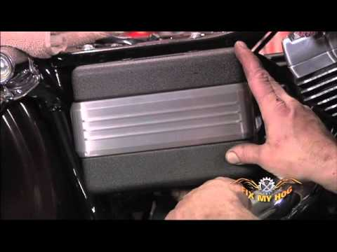 harley wiring diagram single phase meter panel davidson maintenance tips: softail / dyna - battery & seat install youtube