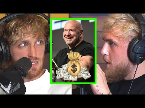 Paul Brothers talk about UFC fighters' pay