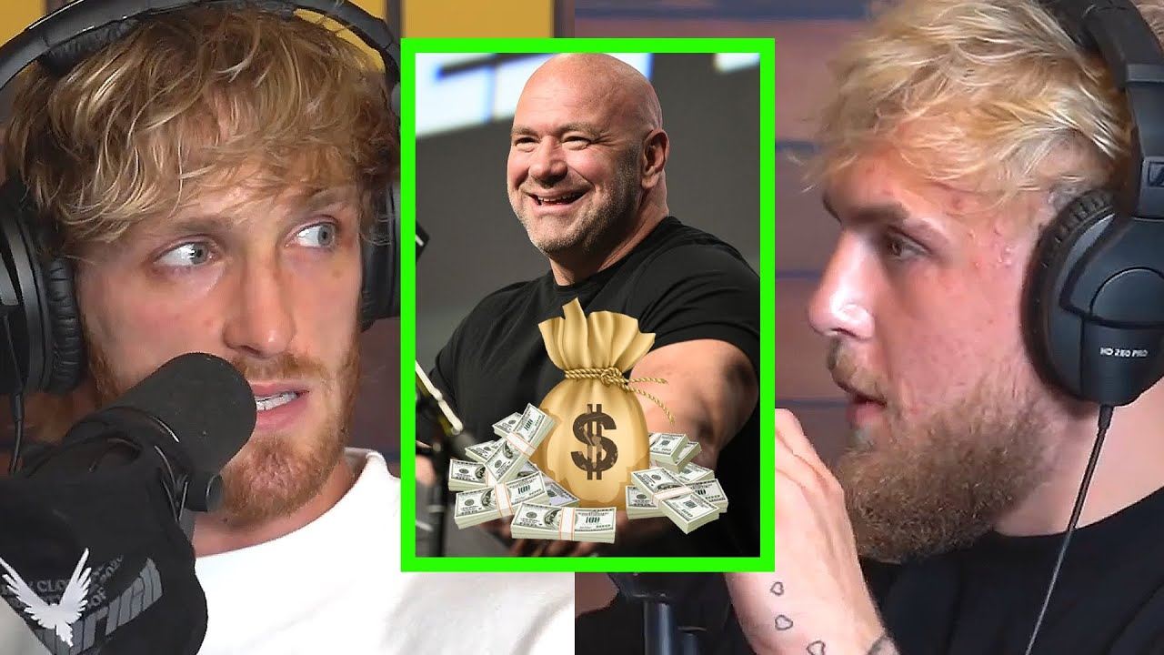 """Dana White slams Jake Paul and Tyron Woodley, laughs at supposed payday for boxing match: """"It's all a bunch of bullsh*t"""""""