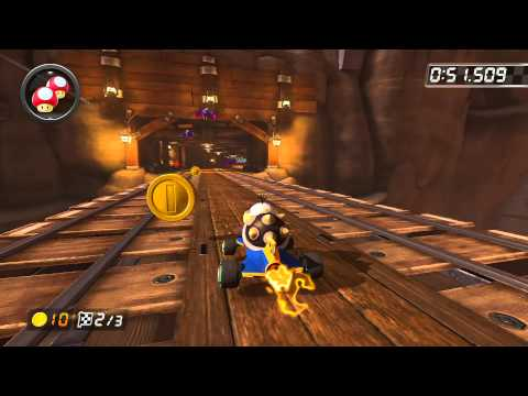 Wii Wario's Gold Mine - 1:53.282 - WEC вεп (Mario Kart 8 World Record)