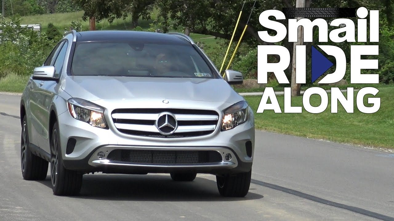 2017 Mercedes Benz Gla 250 4matic Suv Smail Ride Along Test Drive And Review