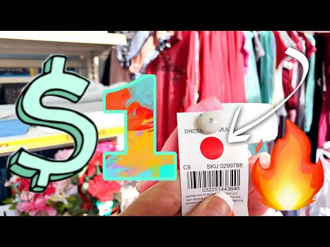 FAMILY DOLLAR HIDDEN CLEARANCE!!!🔥$1 RED DOT CLOTHES!!!👉🔴