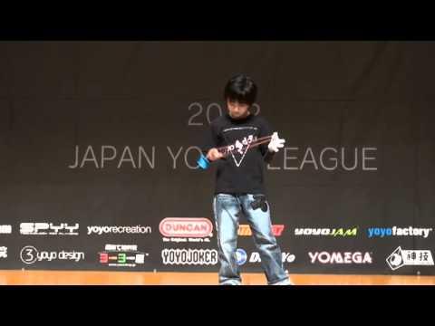 2012 Central Japan Yo Yo Contest 1A Pre Takahiro Kato
