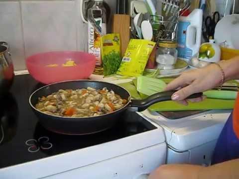 Закуски с грибами рецепты