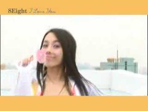 "8eight ""I love you (feat.Jessica)"" MV"