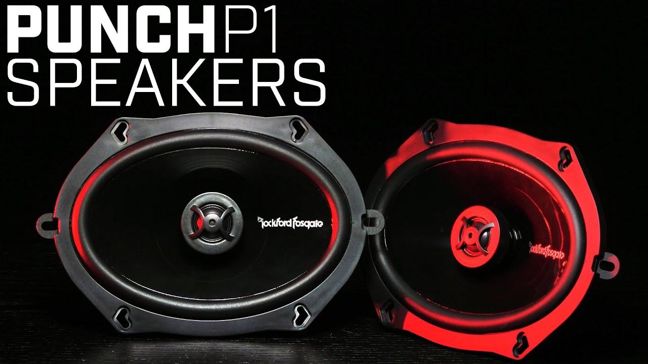 rockford fosgate punch p1 speakers youtube. Black Bedroom Furniture Sets. Home Design Ideas