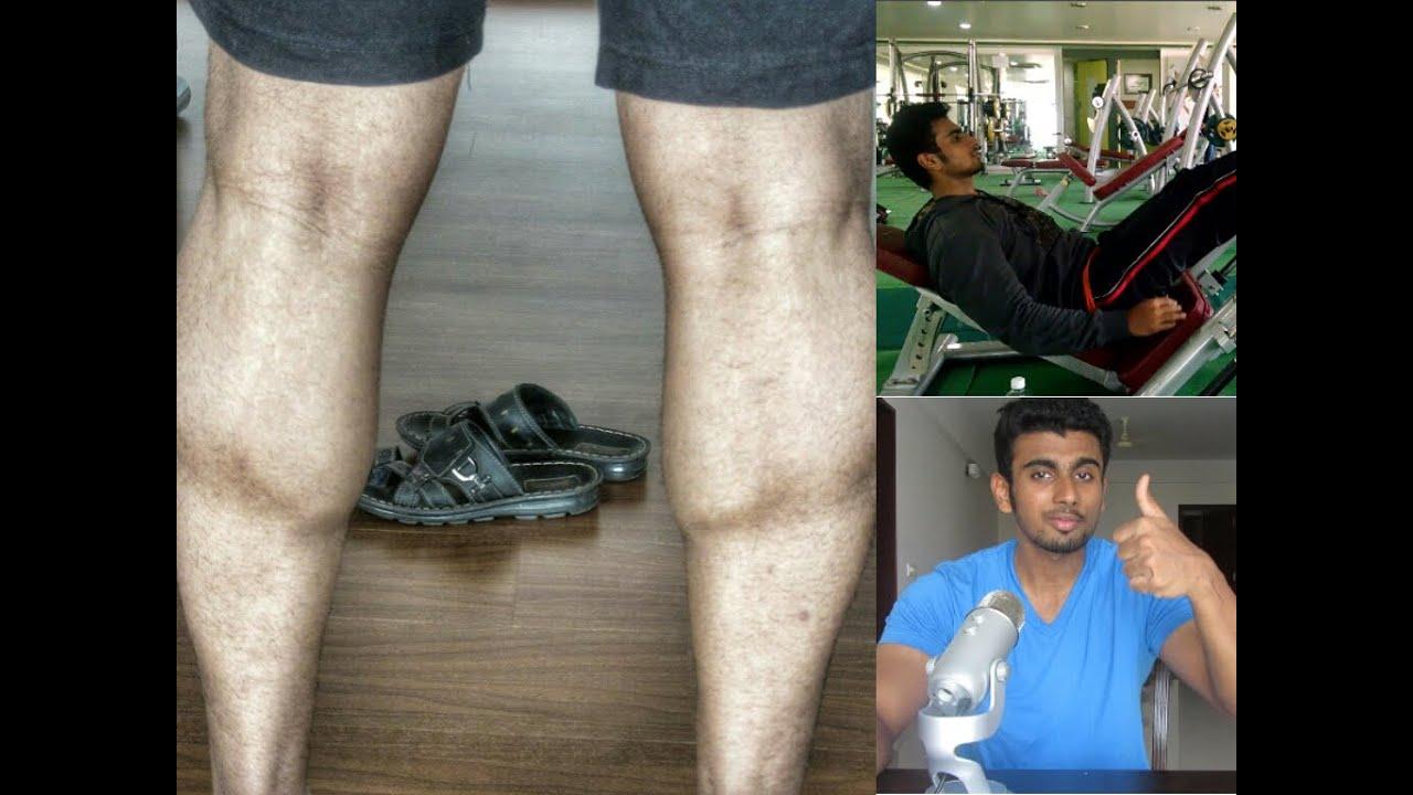Masturbation and fatty calf muscles