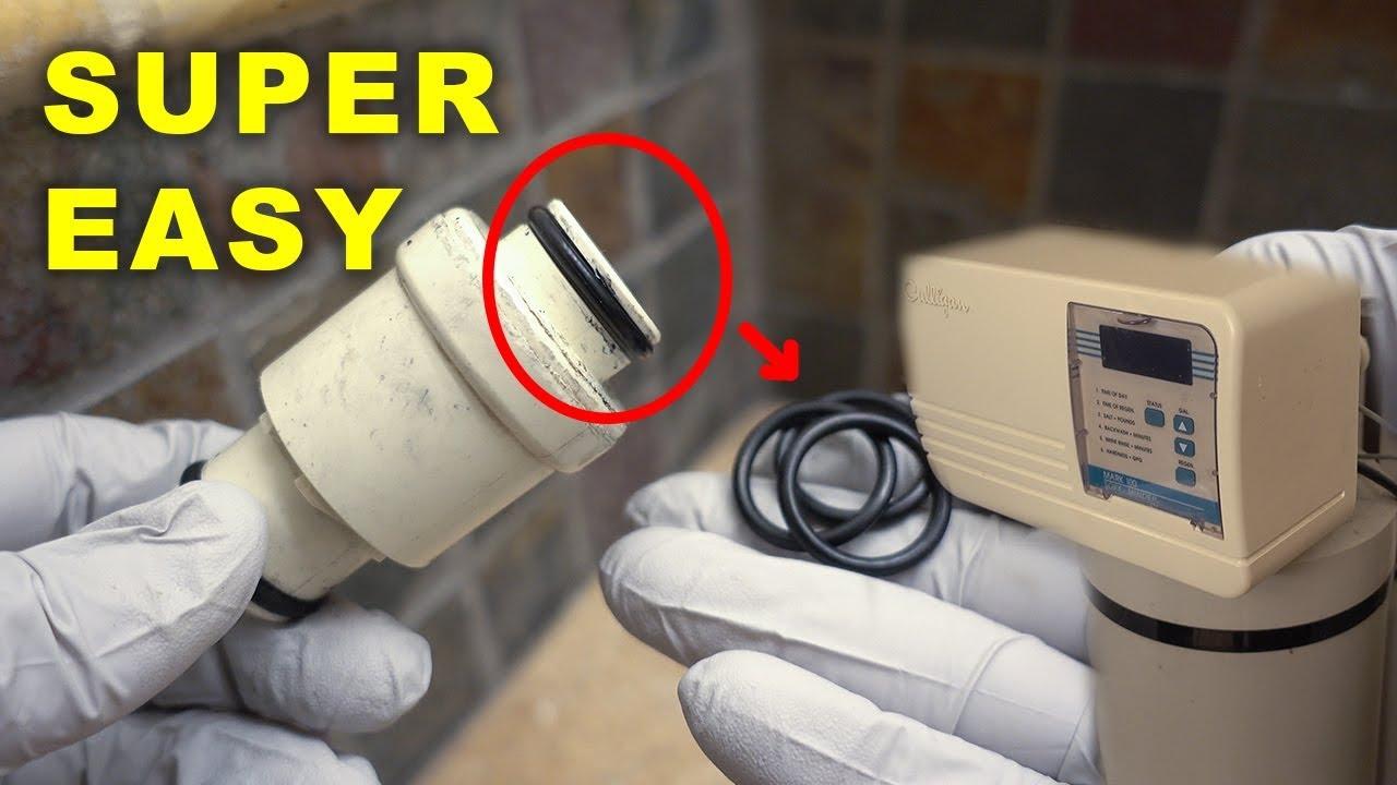 Culligan Water Softener Leak Fix