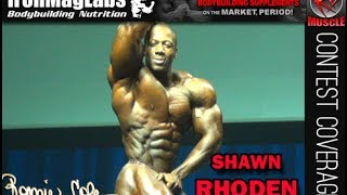 Shawn Rhoden Posing Routine At The 2014 Australian Grand Prix!