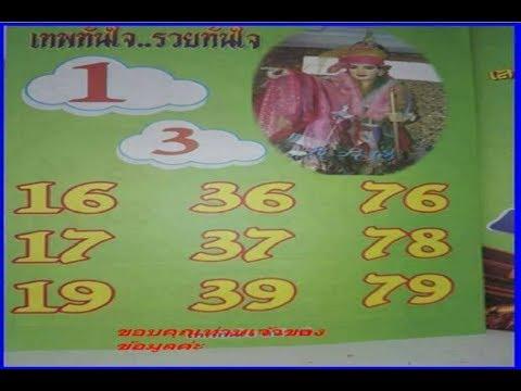 Thai Lotto Dubai Paper Tip on 01 03 2018