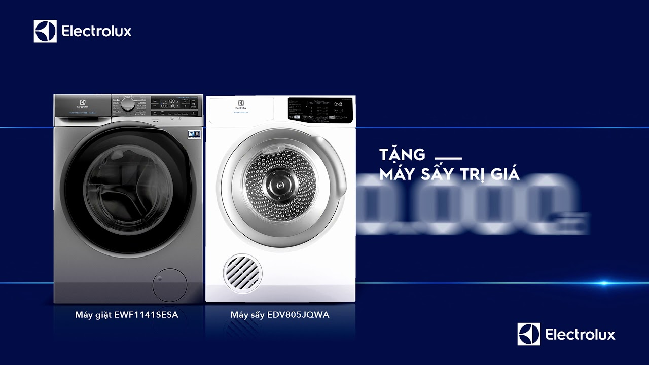 Electrolux_Mua máy giặt công nghệ Autodose tặng máy sấy trị giá 9.490K