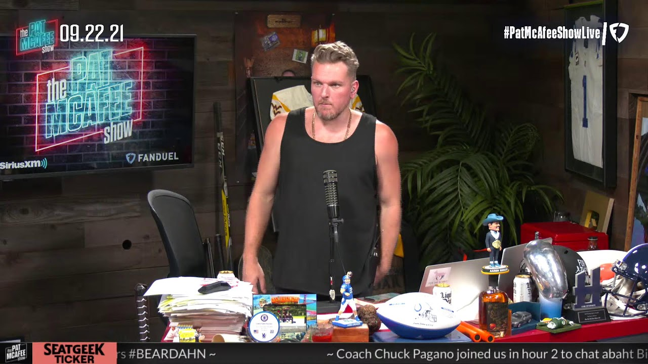 Download The Pat McAfee Show | Wednesday September 22nd, 2021