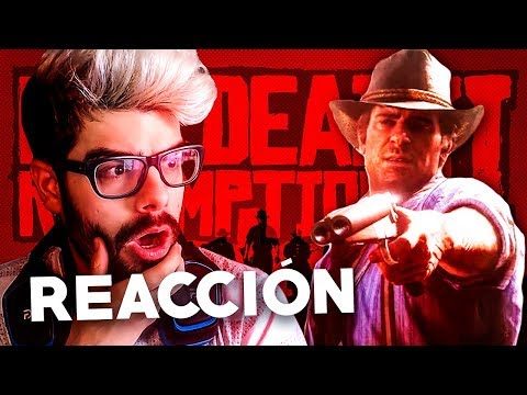 REACCIÓN AL NUEVO GAMEPLAY DE RED DEAD REDEMPTION 2!! Trailer Red Dead Redemption 2 Gameplay Español