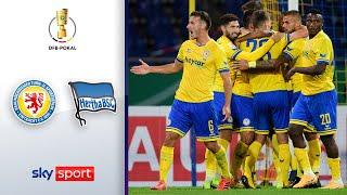 9-Tore Krimi! | Eintracht Braunschweig - Hertha BSC | Highlights - DFB-Pokal 2020/21 | 1. Runde