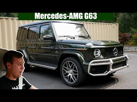 Review: 2019 Mercedes-AMG G63 - The Playful Beast!