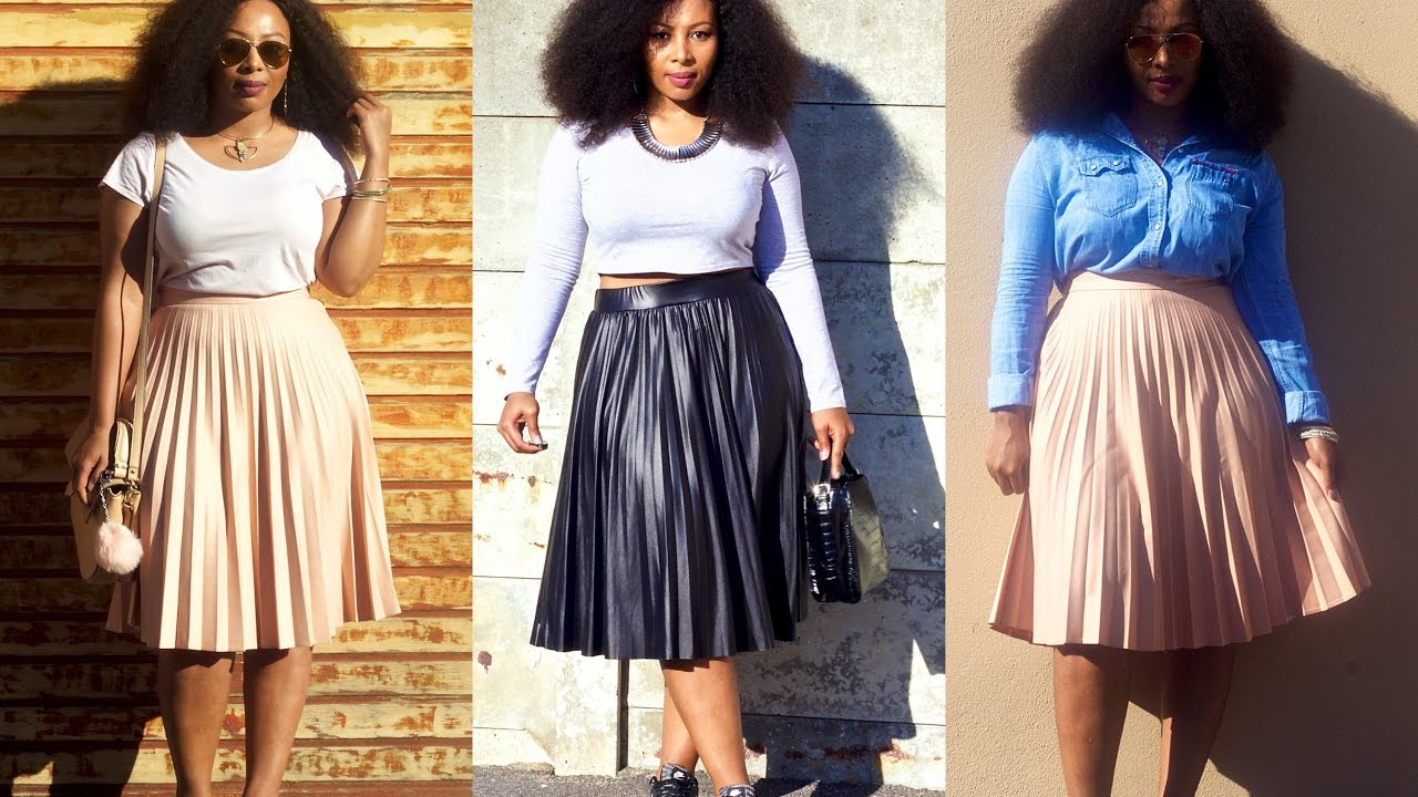 bfb158a356 STYLING PLEATED SKIRTS | curvy girl fashion | plus size lookbook ...