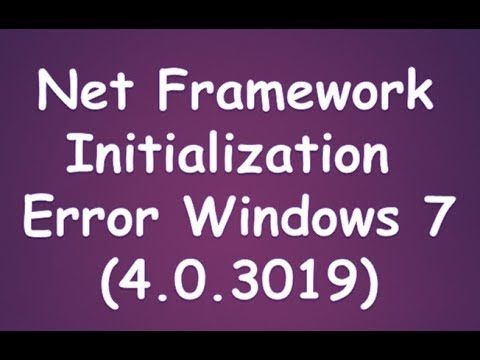 kmseldi.exe-.net framework initialization error
