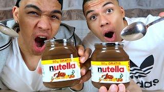 NUTELLA CHALLENGE + HEFTIGE STRAFE !!! | PrankBrosTV