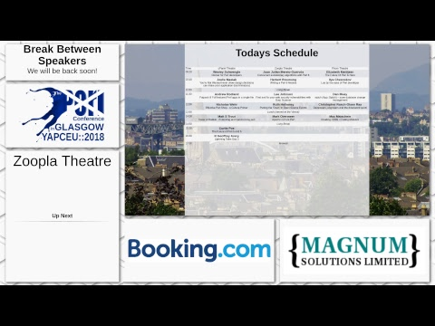 The Perl Conference in Glasgow - Day 3 - Zoopla Theatre