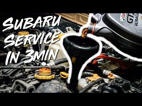 BASIC SUBARU SERVICE In 3min ! MAKE IT LAST LONGER !