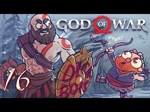 God of War HARD MODE (God of War 4) Part 16 - w/ The Completionist