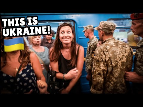 FIRST IMPRESSIONS OF UKRAINE (one day in Kiev)
