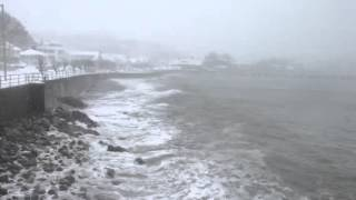 Rough Ocean Water in Swampscott MA