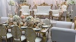 Royal Dining and Stage Setup - Royal Luxury Event Rentals of Houston