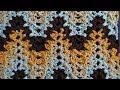 V Stitch Ripple Crochet Stitch - Right Handed Crochet Tutorial