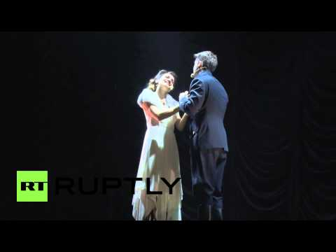 Latvia: Watch as musical of aviator and Nazi Herbert Cukurs hits stage
