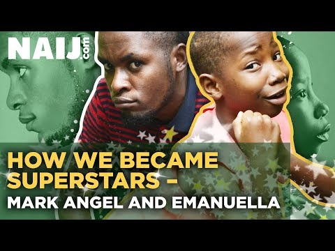 Emanuella and Mark Angel Interview for Star Chat: How we became superstars   NAIJ.com TV