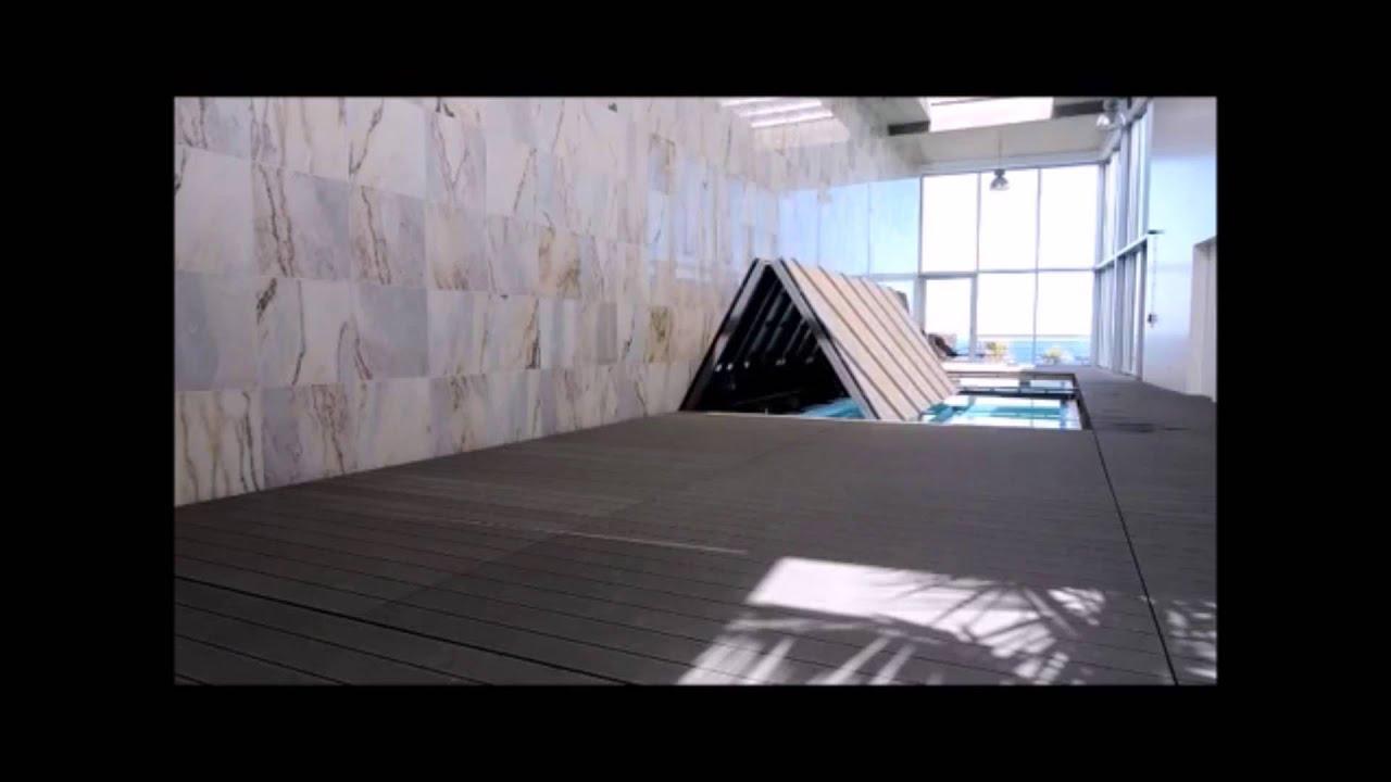 V-LINE LUXURY POOL COVER - RJB HYDRAULICS - YouTube