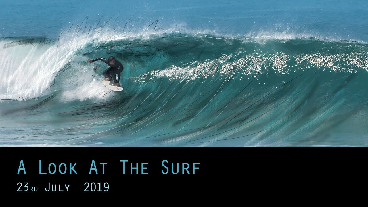 Summer Waves in Cornwall - 23rd July 2019