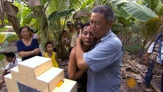 Vietnamese orphans return home
