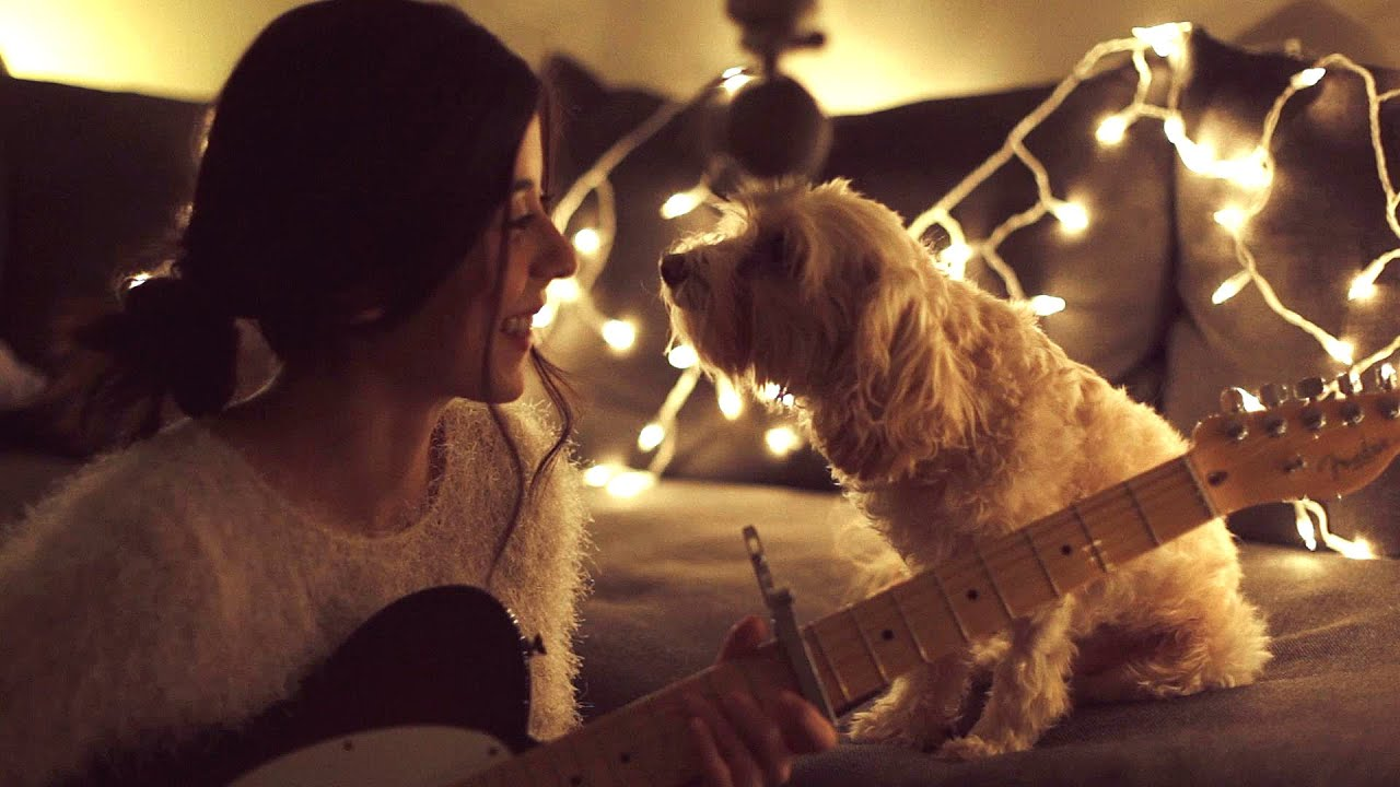 Girl Playing Guitar Hd Wallpapers Christmas Time Is Here Daniela Andrade Youtube