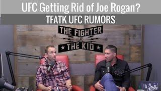 Video Could Joe Rogan Be Out As UFC Commentator? download MP3, 3GP, MP4, WEBM, AVI, FLV Januari 2018