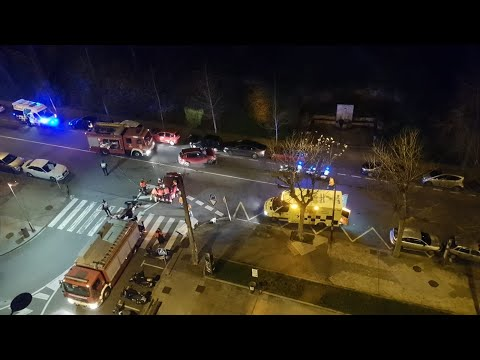 Accidente en Marqués de Alcedo entre dos vehículos