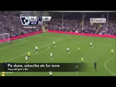 Fulham Vs Arsenal   Full Highlights Premier League