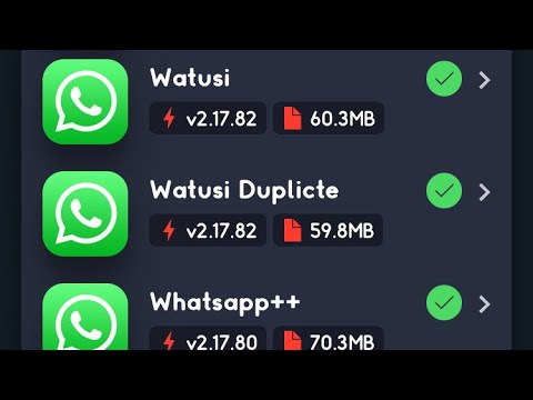 How To Install Watusi (WhatsApp Tweaked App) With Many Extra Features On  iPhone (No Jailbreak)