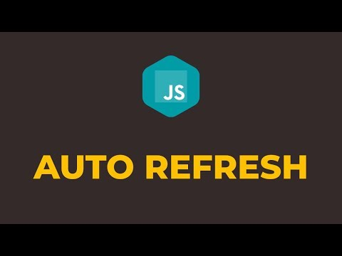 How To Auto Refresh Web Page Every 5 Seconds Using Javascript & HTML