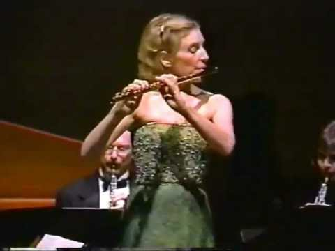 Flute Concerto in D Major (I. Allegro aperto) by Mozart - Paula Robison, flute