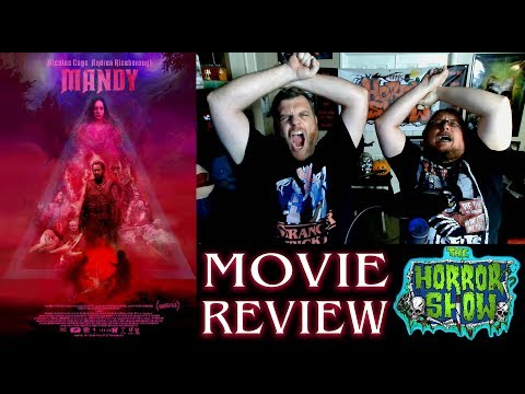 """""""Mandy"""" 2018 Nicholas Cage Horror Movie Review - The Horror Show"""